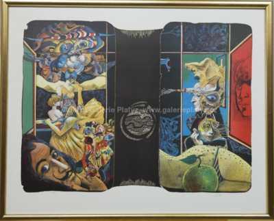 Josef Liesler - Pocta Dalímu