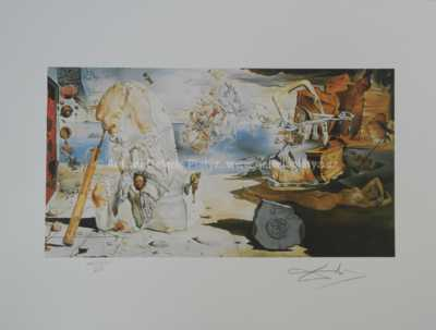Salvador Dalí - Pocta Homérovi