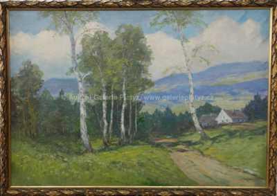 Vladimír (Vláďa) Novák - Břízy u cesty