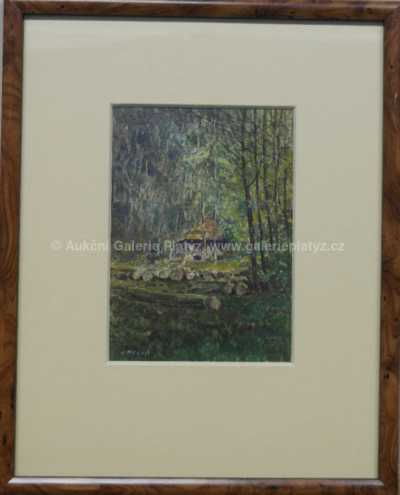 Josef Holub - Chaloupka v lese
