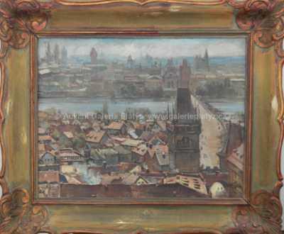 Autor neurčen - Panorama Prahy