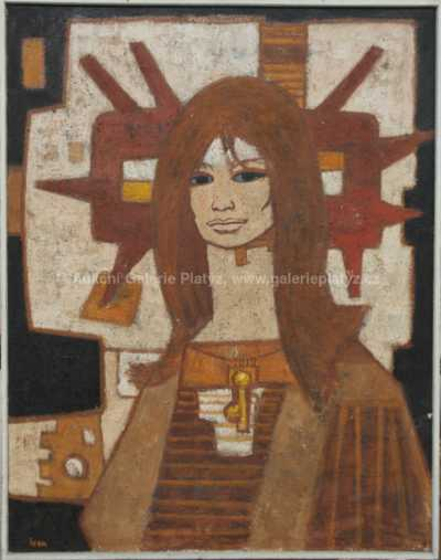 Ivan Sedliský - Žena se sluncem