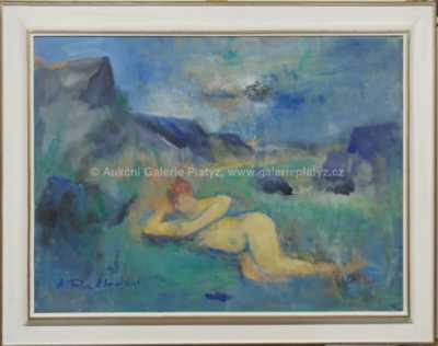 Antonín Rychlovský - Dívka v Divoké Šárce