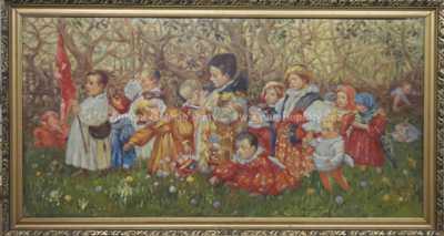 Jan Uprka - Dětské procesí