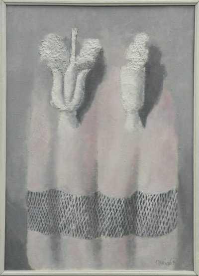Vladimír Komárek - Šedorůžový obraz