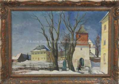 Rudolf Hanych - Zimní nálada