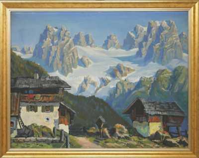 Autor neurčen - Alpský motiv