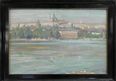 Jaroslav Šafařík (Šafara) - Pražské panorama