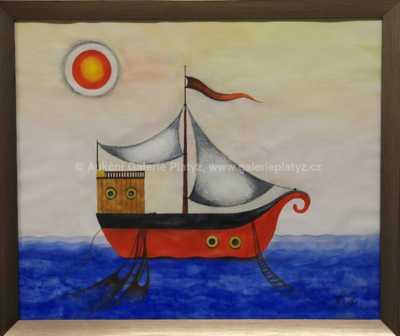 Ludmila Jiřincová - Rybářská loď