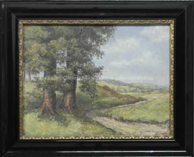 Karel Karas - Dva duby u cesty