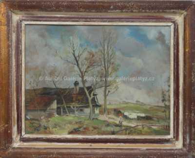 J. Kubižňák - Ve vesnici