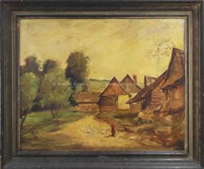 Karel Hodr - Na návsi