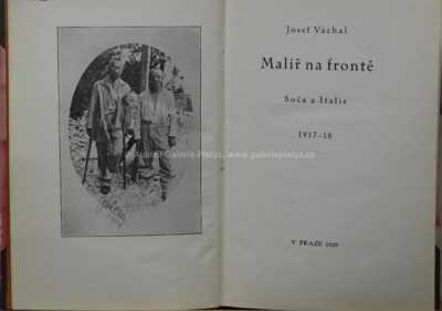 Josef Váchal - Malíř na frontě