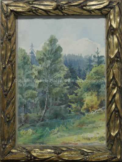 Autor neurčen - Lesní tišina (Žloukovice)