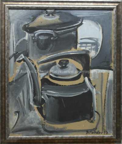 Andrej Bělocvětov - Kuchyňské zátiší