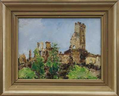 Čeněk Choděra - Trosky hradu Okoře