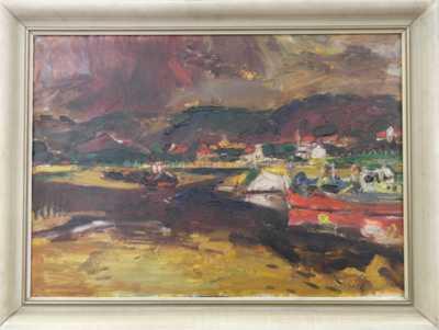 Leopold Musil - Podzim na Vltavě