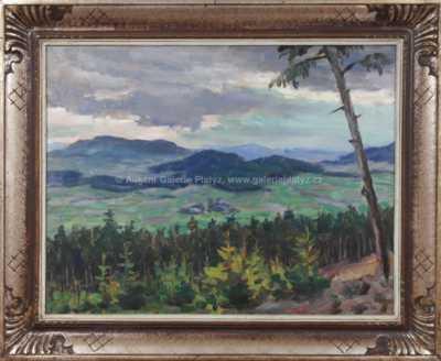 Josef Fiala - Pohled na Bavor