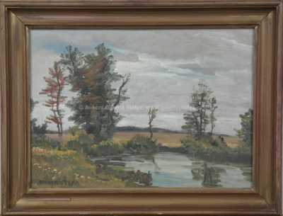 Otakar Hůrka - Zarostlý rybník