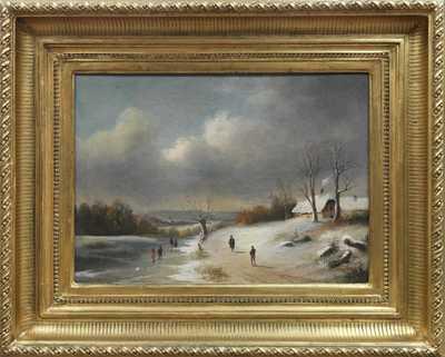 Autor neurčen - Na zamrzlé řece