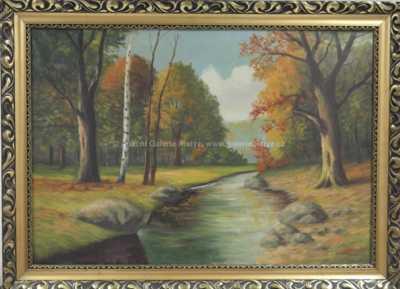Jaroslav Riedl - Podzimní řeka