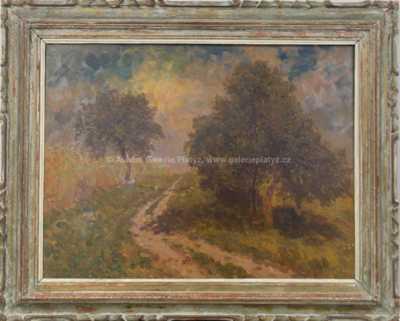 Otakar Teklý - Mezi stromy