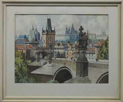 Karel Šulc - Pražské panorama