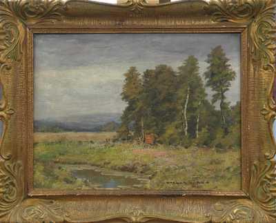 Otakar Hůrka - U rybníka