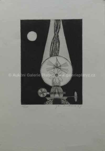 Jan  Smetana - Noční lampa