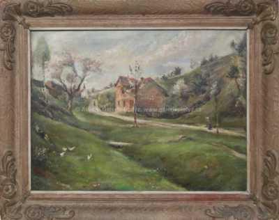 Václav  Kozák - Cesta před domem
