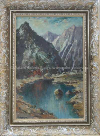 Emanuel Hosperger - V horském údolí