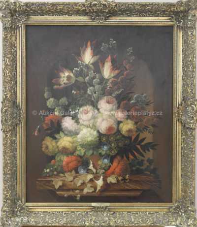 Josef Steiner - Květinové zátiší