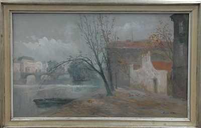 Karel Hodr - Pod Karlovým mostem