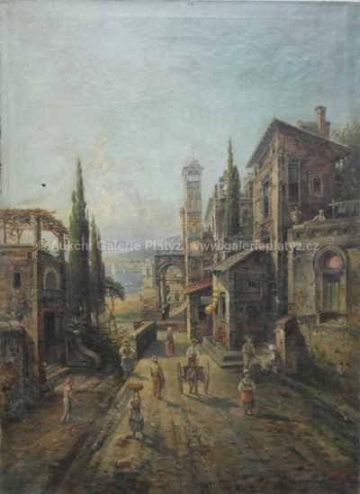 Jean Madura - Přímořské město