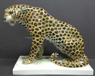 Porcelán - Leopard