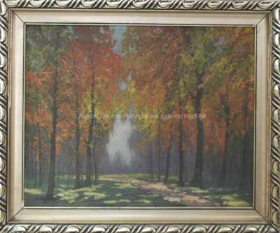 Antonín  Augusta - Podzimní les