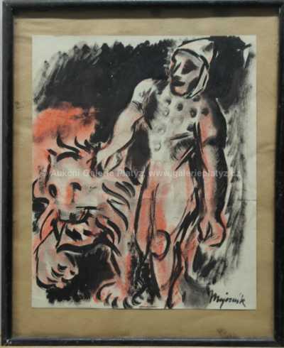Cyprián Majerník - Klaun a lev