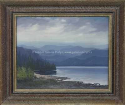 Antonín  Augusta - Černé jezero