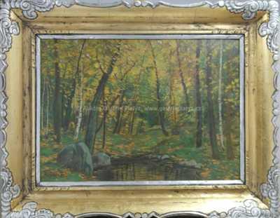 Karel Schadt - Podzim v lese