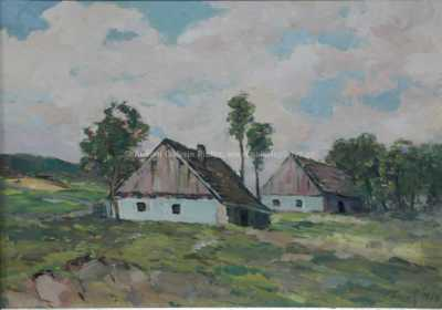 K. K.  Farský - Roubenky