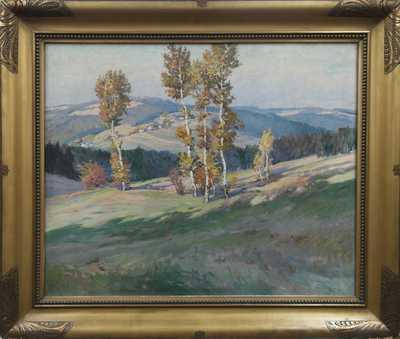 Gustav  Porš - Podzimní nálada u Modletína