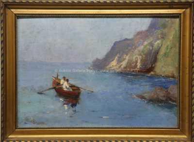 Slavoj Štok - Rybáři na Capri