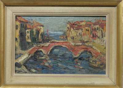 Leopold Musil - Benátky