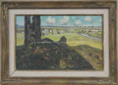 Karl Heffner - Římské ruiny