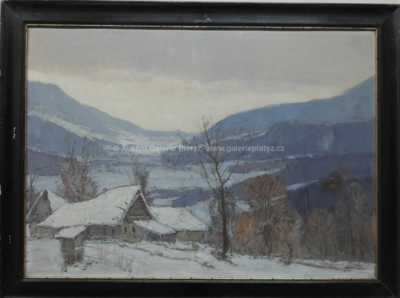 Antonín  Augusta - Zima v horách