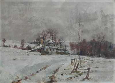 Jiří Heřman - Zima v Křížánkách