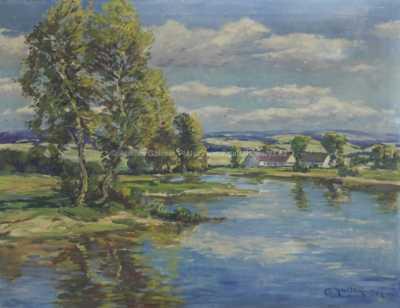 Gustav Reiter - Na řece
