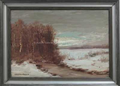 Otakar Hůrka - Zasněžený potok