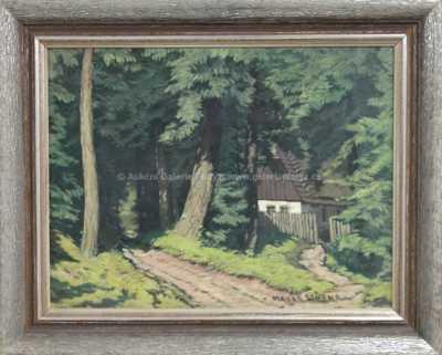 Otakar Hůrka - Chaloupka u lesa