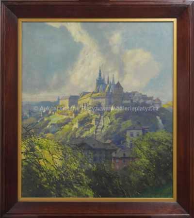 Jaroslav Šetelík - Pražský hrad